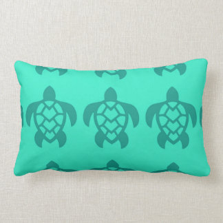 Hawaiian Turtle Lumbar Pillow
