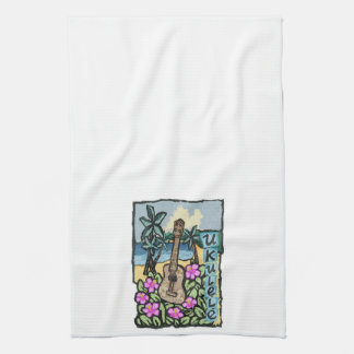 Hawaiian Ukulele, Kitchen Towel