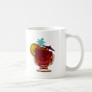 HAWAIIAN UMBRELLA DRINK CLASSIC WHITE COFFEE MUG