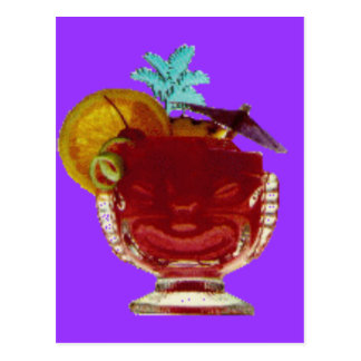 HAWAIIAN UMBRELLA DRINK POSTCARD