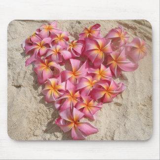 Hawaiian Valentine Mouse Pad