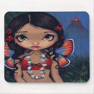 """Hawaiian Volcano Fairy"" Mousepad"