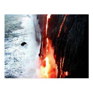 Hawaiian Volcano Postcard