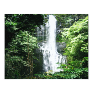 Hawaiian Waterfall Card