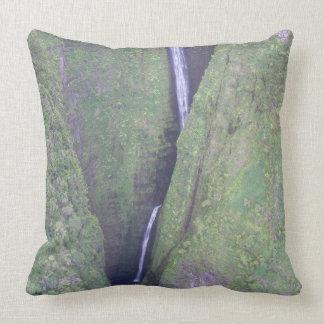 Hawaiian Waterfall Pillow