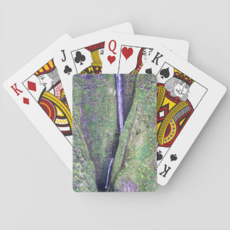 Hawaiian Waterfall Playing Cards