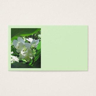 Hawaiian White Ginger Business Card