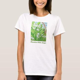 Hawaiian White Ginger T-Shirt