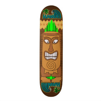 Hawaiian Wood Board Skateboards