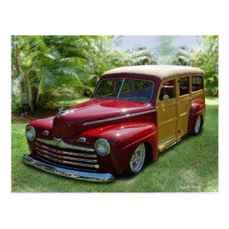 Hawaiian Woodie Postcard