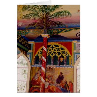 Hawaii's Painted Church Frescoe Card