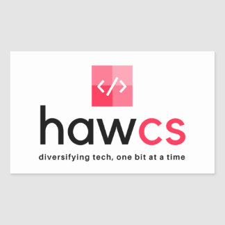 HAWCS Club Rectangular Sticker