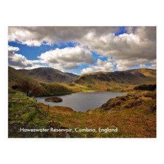 Haweswter Reservoir, Cumbria Postcard
