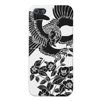 hawk and camellia 鷹椿 iPhone 5/5S case