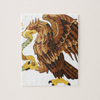 Hawk and snake jigsaw puzzle