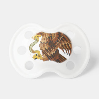 Hawk and snake pacifier