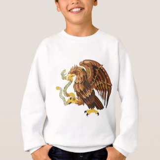 Hawk and snake sweatshirt