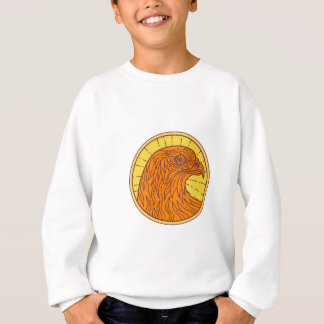 Hawk Eye Side Circle Mono Line Sweatshirt