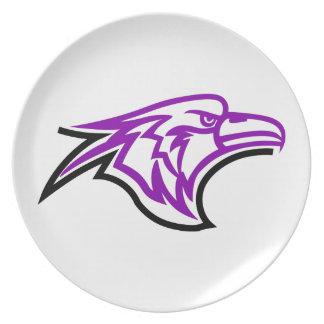 Hawk Head Party Plates
