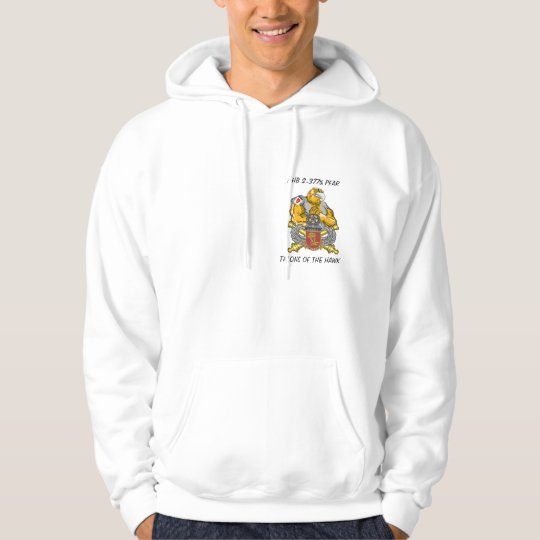 HAWK, HHB 2-377th PFAR, TALONS OF THE HAWK Hoodie