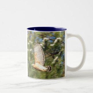 Hawk in Flight Mug