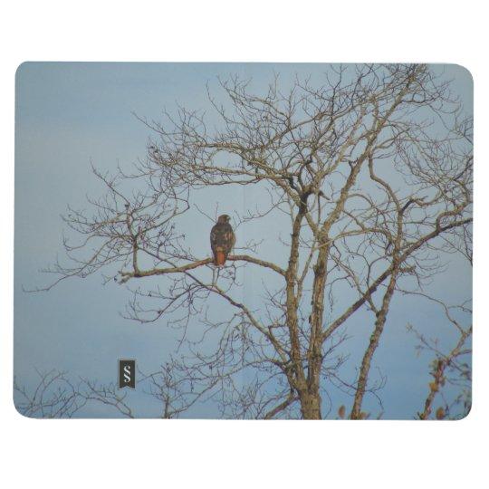 Hawk In October Pocket Journal