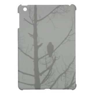 Hawk In The Mist iPad Mini Cases