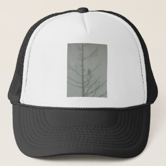 Hawk In The Mist Trucker Hat