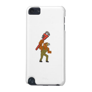 Hawk Mechanic Pipe Wrench Cartoon iPod Touch 5G Covers