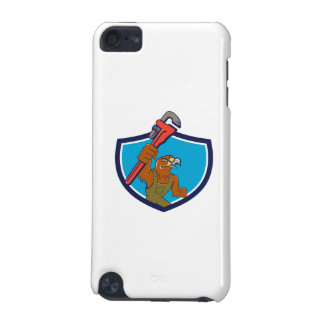 Hawk Mechanic Pipe Wrench Crest Cartoon iPod Touch (5th Generation) Cases