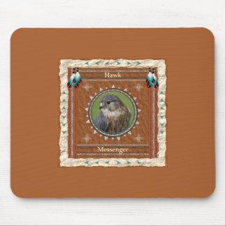 Hawk  -Messenger- Mousepad