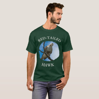 Hawk On The Hunt Men's Basic Dark T-Shirt