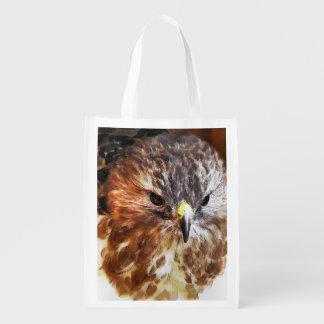 HAWK REUSABLE GROCERY BAG