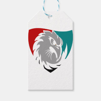 Hawk Security Protection Shield Gift Tags