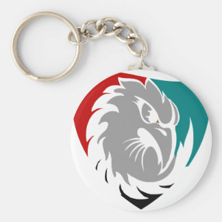 Hawk Security Protection Shield Keychain