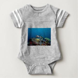Hawkbill Turtle Baby Bodysuit