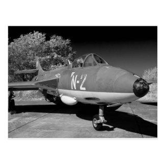 Hawker Hunter FGA.78 aircraft. Postcard