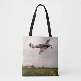 Hawker Hurricane Mk XIIa  [G-HURI] Tote Bag