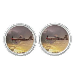 Hawker Sea Fury Cufflinks