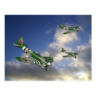 Hawker Typhoon Postcard