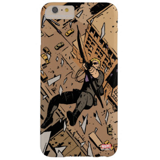 Hawkeye Falling From Window Barely There iPhone 6 Plus Case