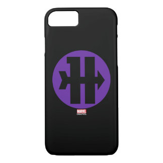 Hawkeye On Target Logo iPhone 8/7 Case