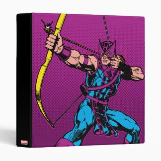 Hawkeye Retro Character Art Binders