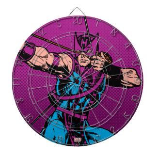 Hawkeye Retro Character Art Dart Boards