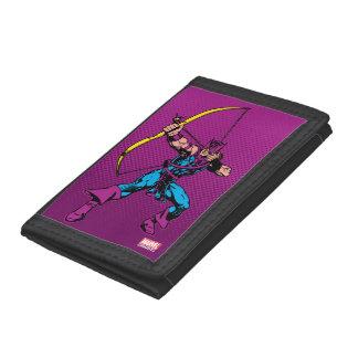 Hawkeye Retro Character Art Trifold Wallet