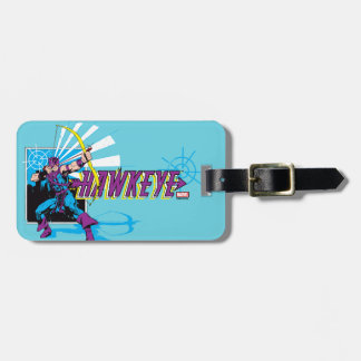 Hawkeye Retro Comic Graphic Luggage Tag