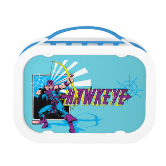 Hawkeye Retro Comic Graphic Lunch Box