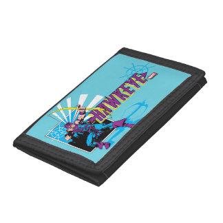 Hawkeye Retro Comic Graphic Tri-fold Wallet