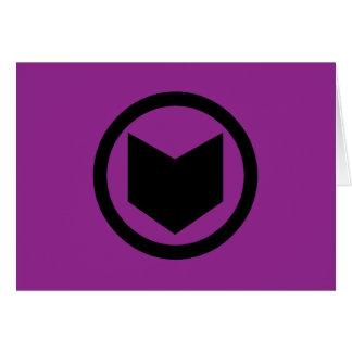 Hawkeye Retro Icon Card