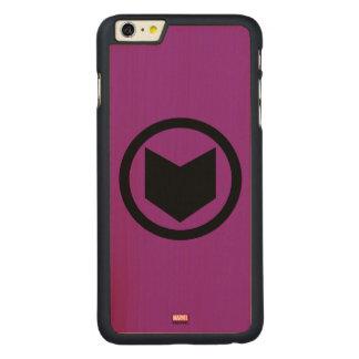 Hawkeye Retro Icon Carved® Maple iPhone 6 Plus Case